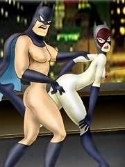 Whore Catwoman getting exploited and penetrated...